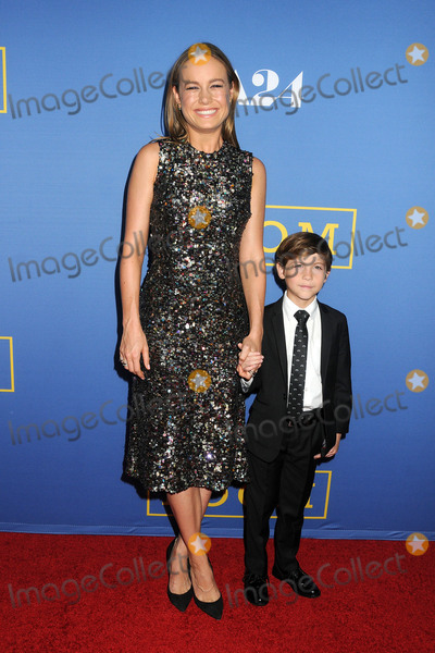 "Brie Larson, Jacob Tremblay Photo - 13 October 2015 - West Hollywood, California - Brie Larson, Jacob Tremblay. ""Room"" Los Angeles Premiere held at the Pacific Design Center. Photo Credit: Byron Purvis/AdMedia"