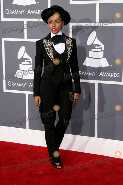 Janelle Monae, Janell Monae, Grammy Awards Photo - 10 February 2013 - Los Angeles, California - Janelle Monae. The 55th Annual GRAMMY Awards held at STAPLES Center. Photo Credit: AdMedia