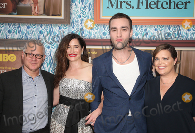 """Billy Wilder, Kathryn Hahn, Tom Perrotta, Amy Gravitt, Jackson White Photo - 21 October 2019 - Los Angeles, California -  Kathryn Hahn, Tom Perrotta, Jackson White, Amy Gravitt. Premiere Of HBO's """"Mrs. Fletcher"""" held at The Billy Wilder Theater at the Avalon Hollywood. Photo Credit: FayeS/AdMedia"""