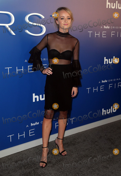 """Anna Jacoby-Heron Photo - 12 September 2018 - Los Angeles, California - Anna Jacoby-Heron. """"The First"""" Hulu Original Drama Series Premiere held at The California Science Center. Photo Credit: Faye Sadou/AdMedia"""