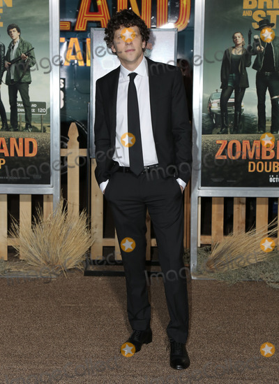 "Jesse Eisenberg Photo - 10 October 2019 - Westwood, California -Jesse Eisenberg. Premiere Of Sony Pictures' ""Zombieland: Double Tap"" held at Regency Village Theatre. Photo Credit: PMA/AdMedia"