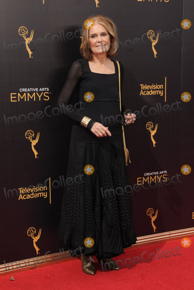 Gloria Steinem Photo - 11 September 2016 - Los Angeles, California. Gloria Steinem. 2016 Creative Arts Emmy Awards - Day 2 held at Microsoft Theater. Photo Credit: Birdie Thompson/AdMedia