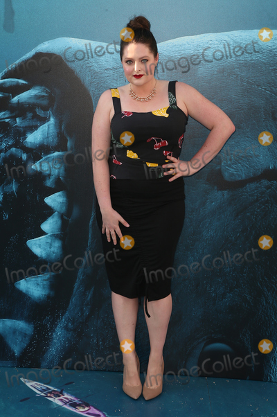 """Lauren Ash, ASH, TCL Chinese Theatre, Ashely Warner Photo - 06 August 2018 - Hollywood, California - Lauren Ash. Warner Bros. Pictures And Gravity Pictures' Premiere Of """"The Meg"""" held at TCL Chinese Theatre IMAX. Photo Credit: Faye Sadou/AdMedia"""
