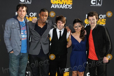 "Photo - 18 February 2012 - Santa Monica, California - Cast of ""Level Up"". 2012 Cartoon Network Hall of Game Awards held at Barker Hangar. Photo Credit: Byron Purvis/AdMedia"