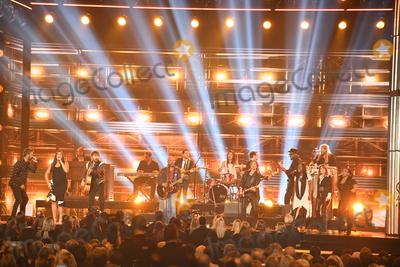 Charles Kelley, Darius Rucker, Dave Haywood, Hillary Scott, Keith Urban, Lady Antebellum, CMA Award Photo - 08 November 2017 - Nashville, Tennessee - . 51st Annual CMA Awards, Country Music's Biggest Night, held at Bridgestone Arena. Photo Credit: Laura Farr/AdMedia