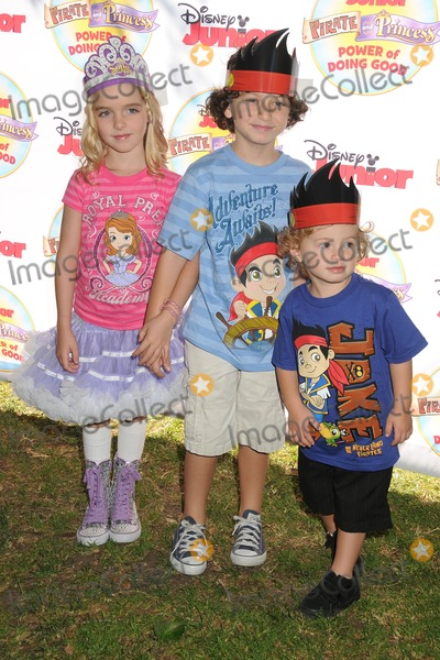 "Mckenna Grace, August Maturo Photo - 16 August 2014 - Pasadena, California - Mckenna Grace, August Maturo, Ocean Maturo. Disney Junior's ""Pirate and Princess: Power of Doing Good"" Tour held at Brookside Park. Photo Credit: Byron Purvis/AdMedia"