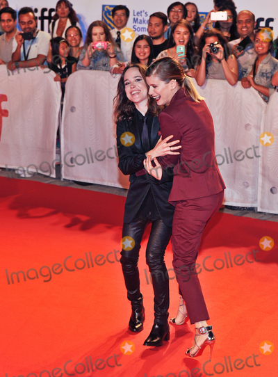 "Ellen Page, Kate Mara Photo - 15 September 2017 - Toronto, Ontario Canada - Kate Mara, Ellen Page.  2017 Toronto International Film Festival - ""My Days Of Mercy"" Premiere held at Roy Thomson Hall. Photo Credit: Brent Perniac/AdMedia"