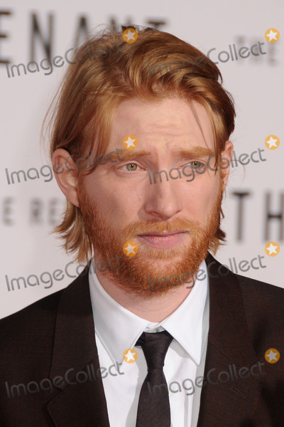 """DOMHNALL GLEESON, TCL Chinese Theatre Photo - 16 December 2015 - Hollywood, California - Domhnall Gleeson. """"The Revenant"""" Los Angeles Premiere held at the TCL Chinese Theatre. Photo Credit: Byron Purvis/AdMedia"""