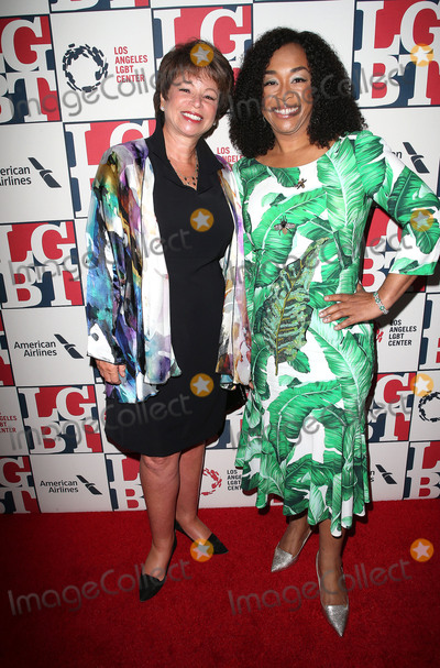 Shonda Rhimes, Valerie Jarrett Photo - 23 September 2017 - Beverly Hills, California - Valerie Jarrett, Shonda Rhimes. Los Angeles LGBT Center's 48th Anniversary Gala Vanguard Awards held at The Beverly Hilton Hotel. Photo Credit: F. Sadou/AdMedia