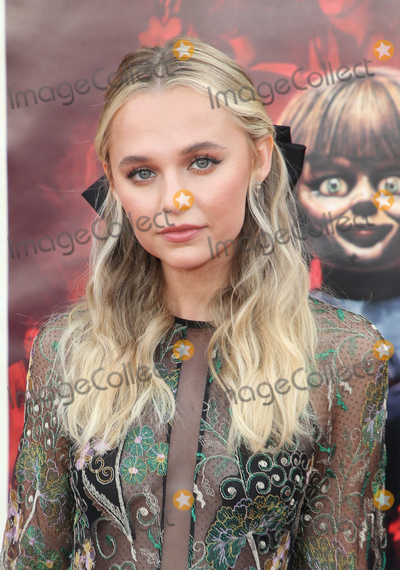 "Madison Iseman Photo - 20 June 2019 - Westwood, California - Madison Iseman. The Premiere Of Warner Bros' ""Annabelle Comes Home""  held at Regency Village Theatre. Photo Credit: Faye Sadou/AdMedia"