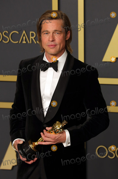 Brad Pitt Photo - 09 February 2020 - Hollywood, California - Brad Pitt attends the 92nd Annual Academy Awards presented by the Academy of Motion Picture Arts and Sciences held at Hollywood & Highland Center. Photo Credit: Theresa Shirriff/AdMedia