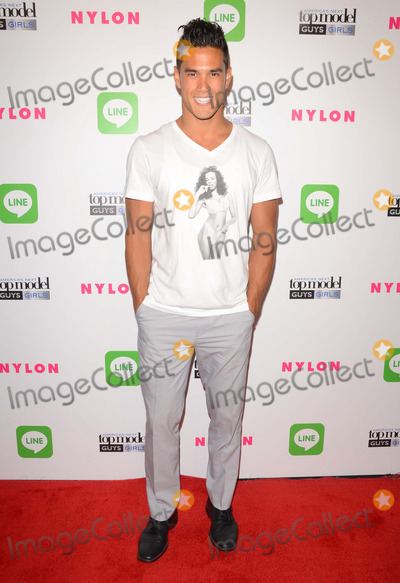 Adam Smith Photo - 20 August 2014 - Hollywood, California - Adam Smith. Arrivals for America's Next Top Model Cycle 21 premiere party presented by NYLON and LINE held at Supperclub in Hollywood, Ca. Photo Credit: Birdie Thompson/AdMedia