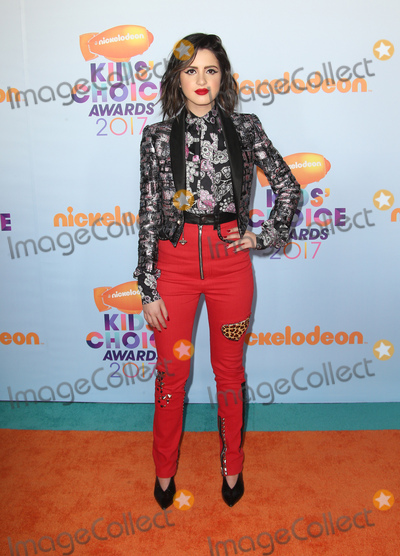 Laura Marano Photo - 11 March 2017 -  Los Angeles, California - Laura Marano. Nickelodeon's Kids' Choice Awards 2017 held at USC Galen Center. Photo Credit: Faye Sadou/AdMedia