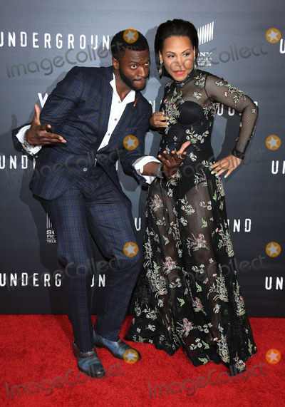 "Aldis Hodge, Aldis Hodges, Amirah Vann Photo - 02 March 2016 - Los Angeles, California - Aldis Hodge, Amirah Vann. ""Underground"" Los Angeles Premiere held at The Theatre At The Ace Hotel. Photo Credit: Winston Burris/AdMedia"