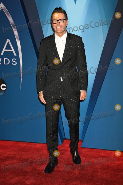 Bobby Bones, CMA Award Photo - 08 November 2017 - Nashville, Tennessee - Bobby Bones. 51st Annual CMA Awards, Country Music's Biggest Night, held at Bridgestone Arena. Photo Credit: Laura Farr/AdMedia