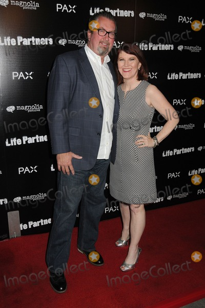 """Kate Flannery Photo - 18 November 2014 - Hollywood, California - Chris Haston, Kate Flannery. """"Life Partners"""" Los Angeles Special Screening held at Arclight Cinemas. Photo Credit: Byron Purvis/AdMedia"""