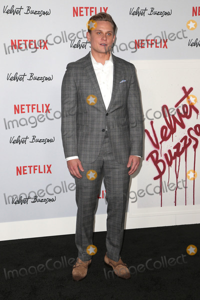 "Billy Magnussen Photo - 28 January 2019 - Hollywood, California - Billy Magnussen. Premiere Screening Of ""Velvet Buzzsaw"" held at The Egyptian Theatre. Photo Credit: Faye Sadou/AdMeda"