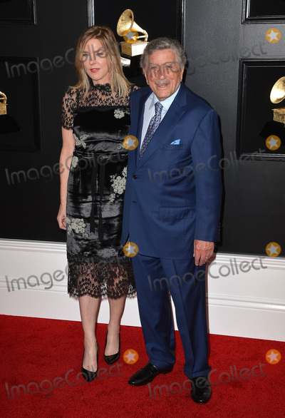 Photo - 10 February 2019 - Los Angeles, California - Diana Krall, Tony Bennett. 61st Annual GRAMMY Awards held at Staples Center. Photo Credit: AdMedia