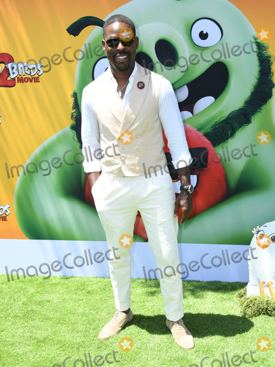 """Angry Bird, Angry Birds Photo - 10 August 2019 - Westwood, California - Sterling K. Brown. Sony's """"The Angry Birds Movie 2"""" Los Angeles Premiere held at Regency Village Theater. Photo Credit: Birdie Thompson/AdMedia"""