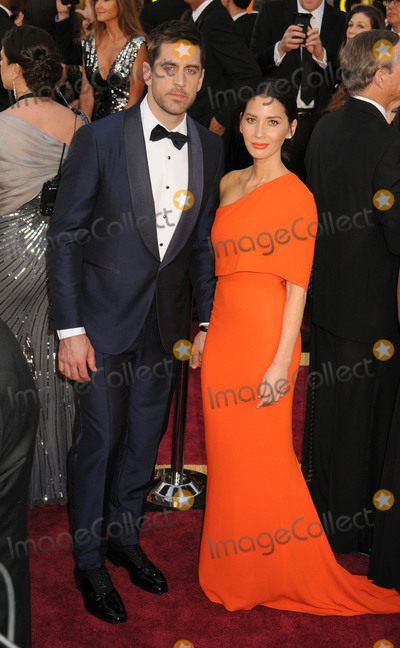 Aaron Rodgers, olivia munn Photo - 28 February 2016 - Hollywood, California - Aaron Rodgers, Olivia Munn. 88th Annual Academy Awards presented by the Academy of Motion Picture Arts and Sciences held at Hollywood & Highland Center. Photo Credit: Byron Purvis/AdMedia