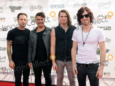 Nothing More Photo - 22 July 2015 - Cleveland, Ohio - Jonny Hawkins, Daniel Oliver, Mark Vollelunga, and Paul O'Brien of the band Nothing More attend the 2015 Alternative Press Music Awards at Quicken Loans Arena. Photo Credit: Jason L Nelson/AdMedia
