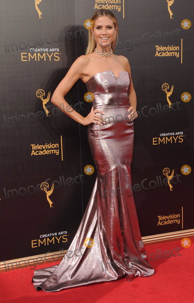 Heidi Klum Photo - 11 September 2016 - Los Angeles, California. Heidi Klum. 2016 Creative Arts Emmy Awards - Day 2 held at Microsoft Theater. Photo Credit: Birdie Thompson/AdMedia