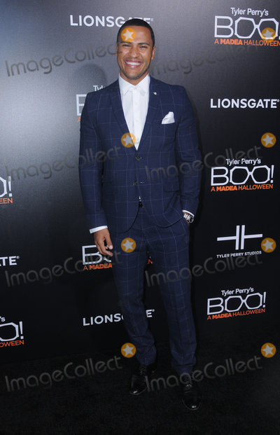 "Andre Hall Photo - 17 October 2016 - Hollywood, California. Andre Hall. Premiere Of Lionsgate's ""Boo! A Madea Halloween"" held at ArcLight Cinerama Dome. Photo Credit: Birdie Thompson/AdMedia"