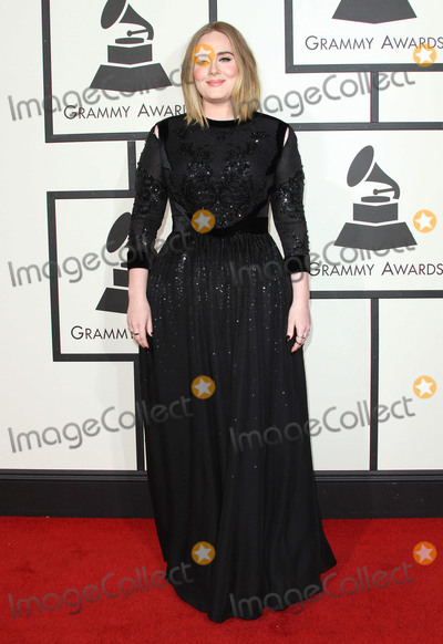 Adele, Adele Adkins, Grammy Awards Photo - 15 February 2016 - Los Angeles, California - Adele Adkins, Adele. 58th Annual GRAMMY Awards held at the Staples Center. Photo Credit: AdMedia