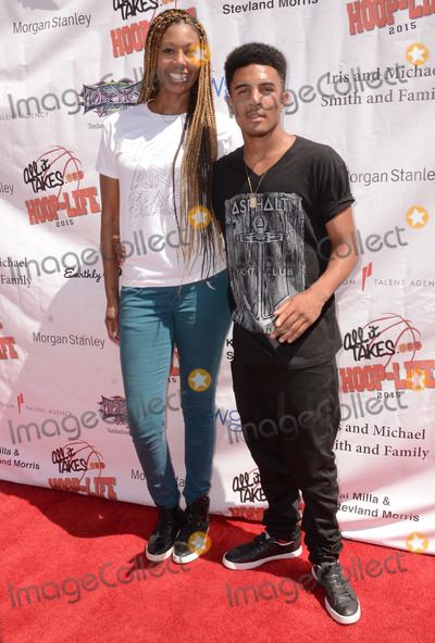 Anthony Lewis, Chantelle Anderson Photo - 30 August 2015 - Los Angeles, California - Chantelle Anderson, Anthony Lewis. 3rd Annual Kailand Obasi Hoop-Life Friendraiser held at The Galen Center at USC. Photo Credit: Birdie Thompson/AdMedia