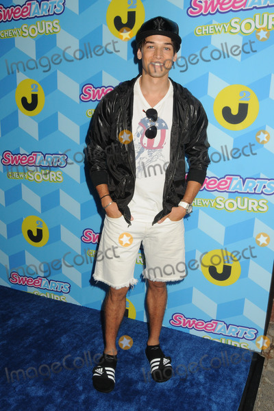 Andrew Gray, Just Jared Photo - 18 July 2015 - Los Angeles, California - Andrew Gray. Just Jared Summer Bash Pool Party 2015 held at a Private Residence. Photo Credit: Byron Purvis/AdMedia