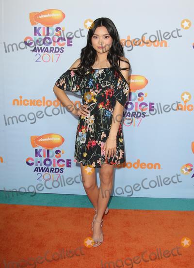 Ashley Liao Photo - 11 March 2017 -  Los Angeles, California - Ashley Liao. Nickelodeon's Kids' Choice Awards 2017 held at USC Galen Center. Photo Credit: Faye Sadou/AdMedia