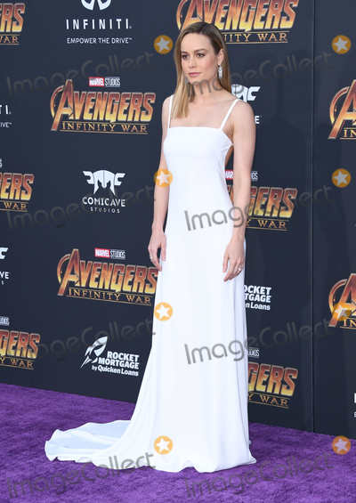 """Brie Larson Photo - 23 April 2018 -  Hollywood, California - Brie Larson. Disney and Marvel's """"Avengers: Infinity War"""" Los Angeles Premiere held at Dolby Theater. Photo Credit: Birdie Thompson/AdMedia"""