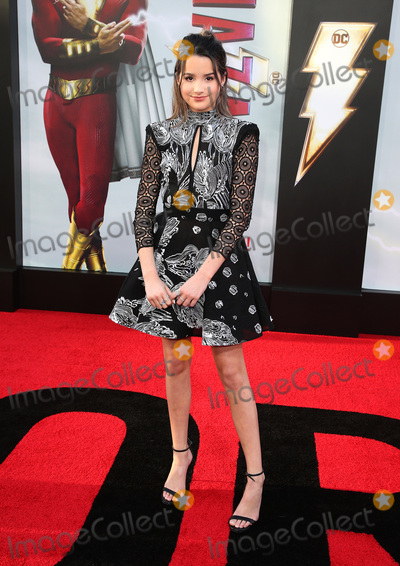 """Annie LeBlanc, TCL Chinese Theatre Photo - 28 March 2019 - Hollywood, California - Annie LeBlanc. Warner Bros. Pictures and New Line Cinema World Premiere of """"SHAZAM!"""" held at TCL Chinese Theatre. Photo Credit: Faye Sadou/AdMedia"""