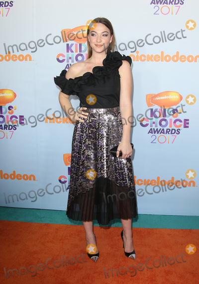 Violett Beane Photo - 11 March 2017 -  Los Angeles, California - Violett Beane. Nickelodeon's Kids' Choice Awards 2017 held at USC Galen Center. Photo Credit: Faye Sadou/AdMedia