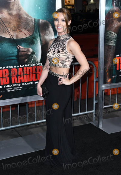 "Amy Pemberton, TCL Chinese Theatre Photo - 12 March 2018 - Hollywood, California - Amy Pemberton. ""Tomb Raider"" Los Angeles Premiere held at TCL Chinese Theatre. Photo Credit: Birdie Thompson/AdMedia"
