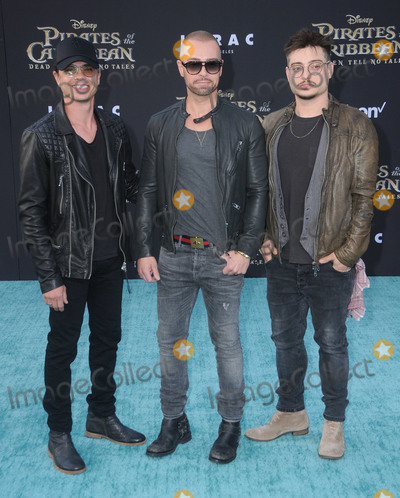 """Andrew Lawrence, Joey Lawrence, Matthew Lawrence Photo - 18 May 2017 - Hollywood, California - Matthew Lawrence, Joey Lawrence, Andrew Lawrence. Premiere Of Disney's """"Pirates Of The Caribbean: Dead Men Tell No Tales"""" at Dolby Theatre in Hollywood. Photo Credit: Birdie Thompson/AdMedia"""