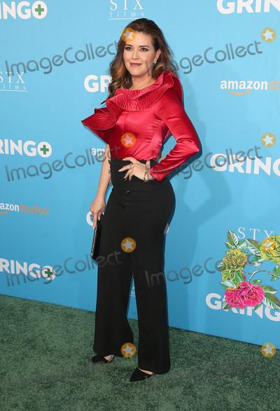 """Alicia Machado Photo - 06 March 2018 - Los Angeles, California - Alicia Machado. Amazon Studios and STX Films' """"Gringo"""" Los Angeles Premiere held at Regal LA Live Stadium 14. Photo Credit: F. Sadou/AdMedia"""