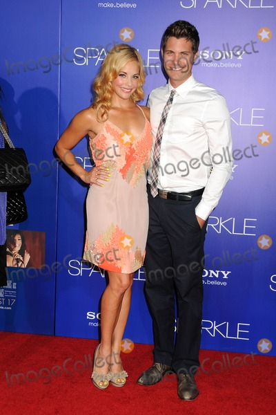 "Amy Paffrath, Drew Seeley, Grauman's Chinese Theatre Photo - 16 August 2012 - Hollywood, California - Amy Paffrath, Drew Seeley. ""Sparkle"" Los Angeles Premiere held at Grauman's Chinese Theatre. Photo Credit: Byron Purvis/AdMedia"