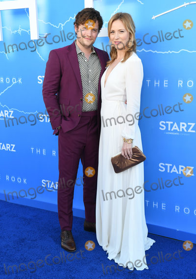 "Beth Riesgraf, Jon Fletcher Photo - 17 June 2019 - Los Angeles, California - Jon Fletcher, Beth Riesgraf. Starz's ""The Rook"" Los Angeles Premiere held at The Getty Museum. Photo Credit: Birdie Thompson/AdMedia"
