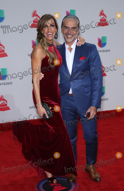 Alejandro Fernandez, Lili Estefan Photo - 16 November 2017 - Las Vegas, NV -  Lili Estefan, Alejandro Fernandez.  2017 Latin Grammy arrivals at MGM Grand Garden Arena. Photo Credit: MJT/AdMedia