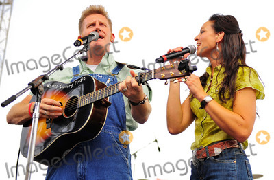 Nothing More Photo - 04 March 2016 - Joey Martin Feek of the country duo Joey + Rory has died at the age of 40. Feek passed away after battling cancer for much of the last two years. She was originally diagnosed with cervical cancer in 2014 and underwent surgery that summer. In June of 2015 she and her husband Rory received the news that her cancer had returned, followed by a devastating diagnosis that the disease had reached Stage 4. Feek subsequently underwent extensive surgery and an aggressive round of chemotherapy and radiation. On Oct. 23 Rory revealed that doctors had given them the news that there was nothing more they could do. The pair made the hard decision to stop treatments. File Photo:10 June 2010 - Nashville, TN - Joey Martin and Rory Feek. Joey + Rory performs at the 2010 CMA Music Festival Riverfront Stage. Photo Credit: Ryan Pavlov/AdMedia