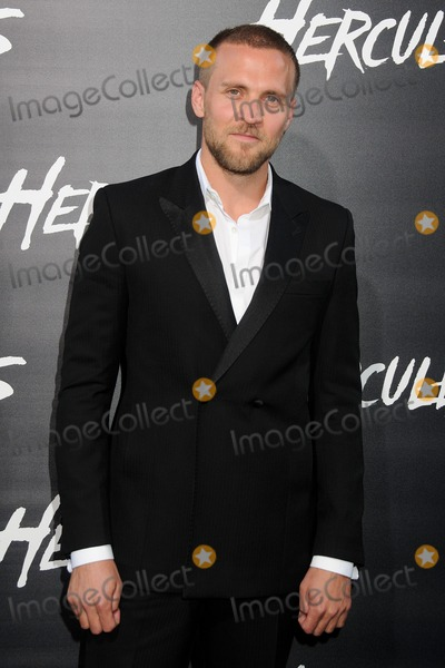 """Tobias Santelmann, TCL Chinese Theatre Photo - 23 July 2014 - Hollywood, California - Tobias Santelmann. """"Hercules"""" Los Angeles Premiere held at the TCL Chinese Theatre. Photo Credit: Byron Purvis/AdMedia"""