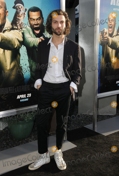 "Alexander DiPersia, Hüsker Dü Photo - 27 April 2016 - Hollywood, California - Alexander DiPersia. Arrivals for the Los Angeles Premiere of Warner Bros.' ""Keanu"" held at ArcLight Hollywood. Photo Credit: Birdie Thompson/AdMedia"