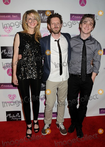 "Kathryn Morris, Kyle Gallner, Cougar, Asher Levin Photo - 31 March 2011 - Hollywood, California - Kathryn Morris, K. Asher Levin and Kyle Gallner. ""Cougars, Inc."" Los Angeles Premiere held at the Egyptian Theater. Photo: Byron Purvis/AdMedia"