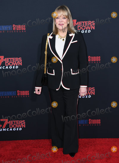 """Candy Spelling Photo - 13 August 2019 - Westwood, California - Candy Spelling. """"47 Meters Down: Uncaged"""" Los Angeles Premiere held at Regency Village Theater. Photo Credit: Birdie Thompson/AdMedia"""