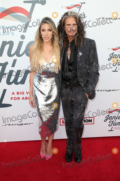Steven Tyler, Aimee Preston, Anouk Aimé Photo - LOS ANGELES, CA - JANUARY 28: Aimee Preston, Steven Tyler, at Steven Tyler and Live Nation presents Inaugural Janie's Fund Gala & GRAMMY Viewing Party at Red Studios in Los Angeles, California on January 28, 2018. Credit: Faye Sadou/MediaPunch