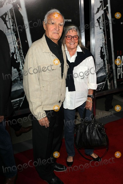 "Audrey Loggia, Robert Loggia Photo - 30 September 2013 - Beverly Hills, California - Robert Loggia, Audrey Loggia. Premiere Of Columbia Pictures' ""Captain Phillips""  Held at the Academy of Motion Picture Arts and Sciences. Photo Credit: Kevan Brooks/AdMedia"