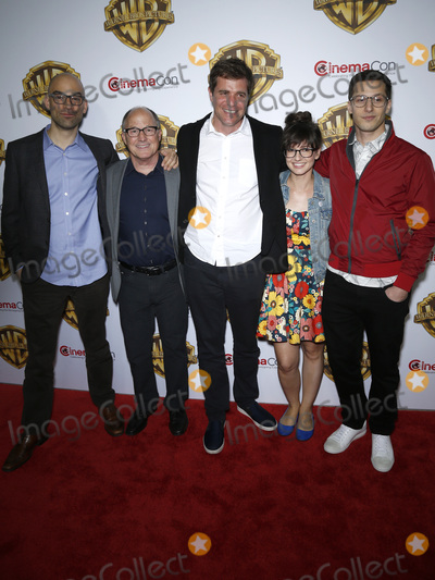 Andy Sandberg, Katie Crown Photo - 12 April 2016 - Las Vegas, Nevada -  Katie Crown, Andy Sandberg. Warner Brothers Pictures presents The Big Picture at 2016 CinemaCon at The Colosseum of Caesars Palace. Photo Credit: MJT/AdMedia
