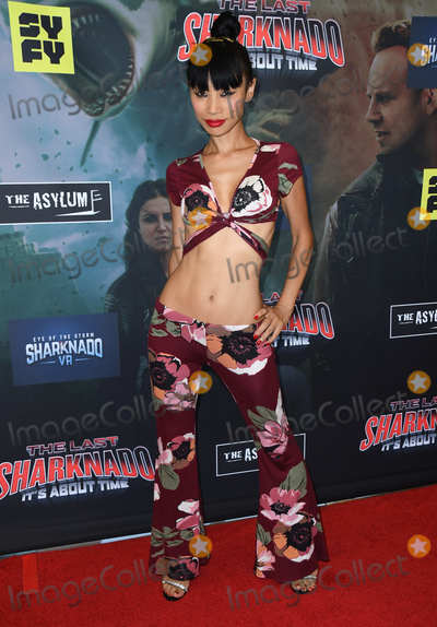 "Bai Ling Photo - 19 August 2018 - Playa Vista, California - Bai Ling.""The Last Sharknado: It's About Time"" Los Angeles Premiere held at Cinemark - Playa Vista. Photo Credit: Birdie Thompson/AdMedia"