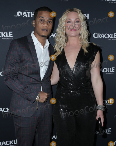 Cory Hardrict, Elisabeth Rohm Photo - 07 March 2018 - Culver City, California - Cory Hardrict, Elisabeth Rohm. Premiere Of Crackle's 'The Oath' held at Sony Pictures Studios. Photo Credit: PMA/AdMedia